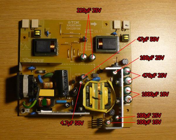 Repairing a Hanns-G HC194D Monitor on